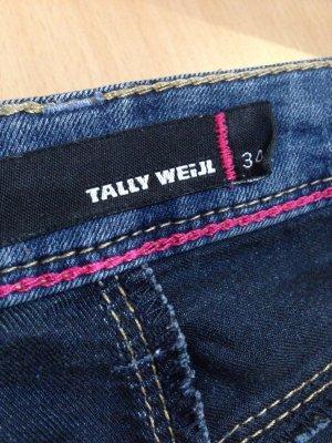 Enge Jeans im ausgewaschenen Stil