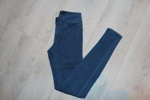Enge Jeans von Vila blau