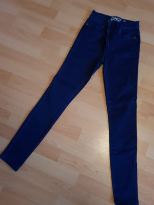 Only Drainpipe Trousers blue