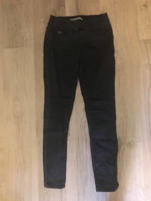 Stradivarius Jeans 7/8 noir