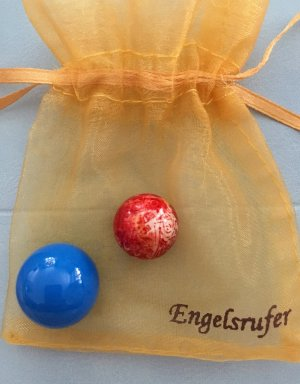Engelsrufer Pendente blu fiordaliso-rosso