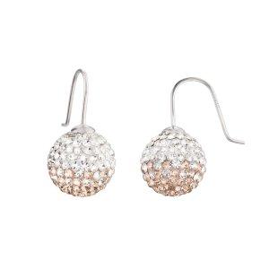 Engelsrufer Ohrringe Crystal Damen Ohrhänger 925 Sterling Silber weiß rosegold