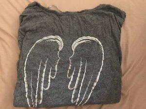 Flame Oversized Shirt dark grey