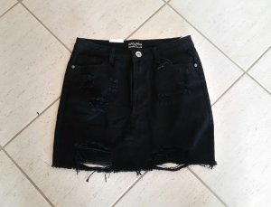 High Waist Skirt black