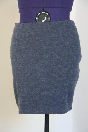 Amisu Falda de tubo azul celeste-azul oscuro