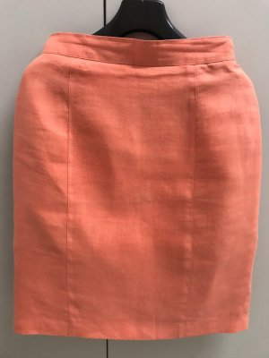 Thomas Rath Jupe en lin rose chair-abricot lin