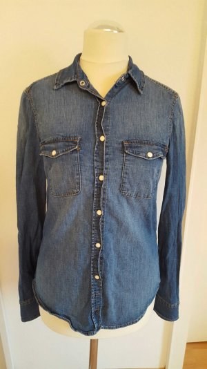 enges jeanshemd von h&m