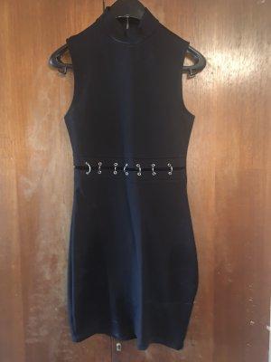H&M Cut out jurk zwart