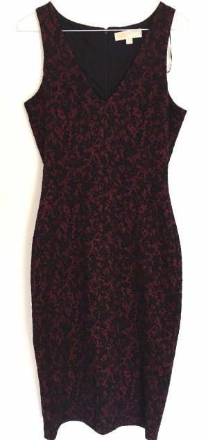 Michael Kors Pencil Dress black-dark red