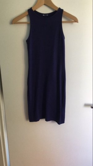 H&M Midi Dress dark blue
