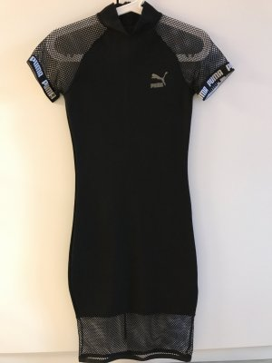 Puma Vestido estilo camisa negro