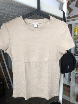 Monki Geribd shirt zandig bruin