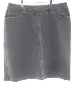enna Jupe en jeans gris clair style décontracté