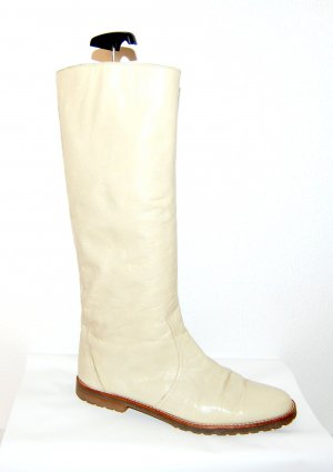 Enrico Antinori Slouch Boots oatmeal leather