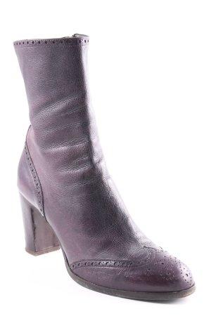 Enrico Antinori Buskins brown violet classic style