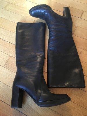 Enrico Antinori - Plateau Stiefel mit hohem Absatz - schwarz Gr. 39.5