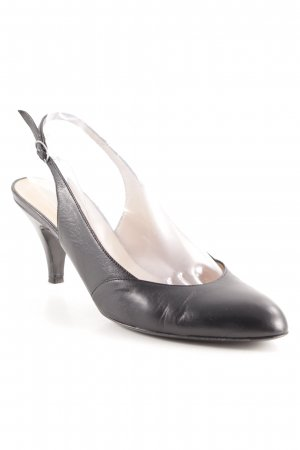 Enrico Antinori Slingback-Pumps schwarz Business-Look