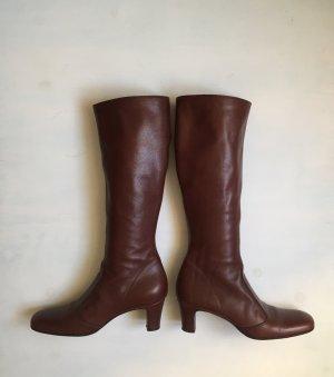 Enrico Antinori Stiefel 40,5 Braun Leder