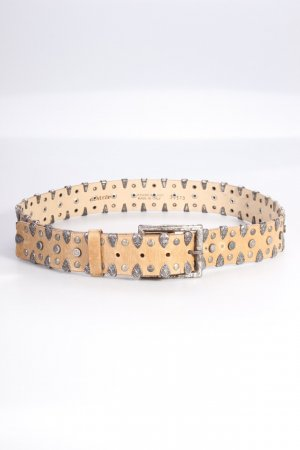 Studded Belt beige