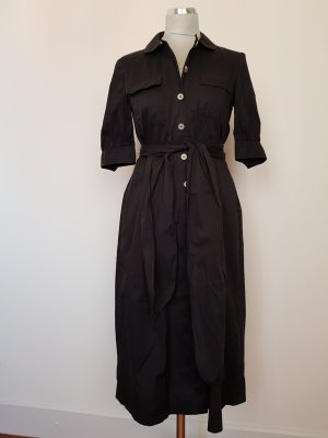 Windsor Robe chemisier noir coton