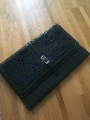 Benetton Clutch dark green-blue