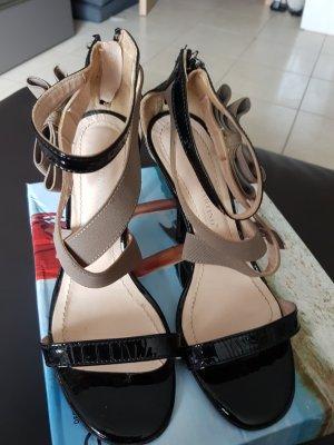 High Heel Sandal black-taupe