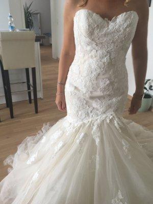 Pronovias Vestido de novia beige claro-crema