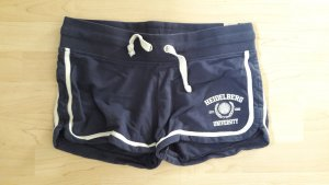 Epona Clothing Sweatshorts Collegelook blau weiß Gr. 36/38/40