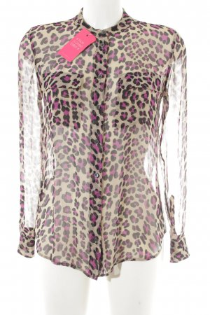 Equipment Langarm-Bluse Animalmuster extravaganter Stil