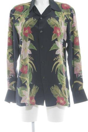 Equipment Langarm-Bluse Blumenmuster klassischer Stil