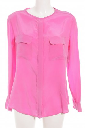Equipment Seidenbluse pink Casual-Look