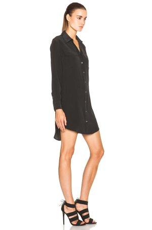 Equipment signature dress Seidenkleid Blusenkleid seidenbluse Gr.S