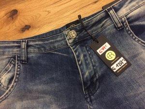 Boyfriend jeans blauw-donkerblauw