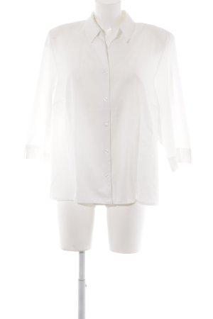 Erfo Empiècement de blouses blanc cassé style simple