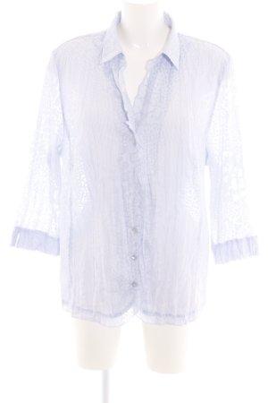 Erfo Hemd-Bluse blau Business-Look