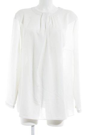 Erfo Langarm-Bluse weiß Elegant