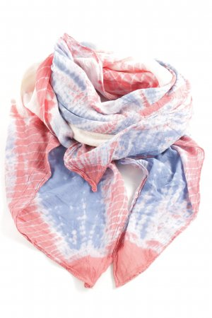 Erfurt Neckerchief red-blue abstract pattern casual look