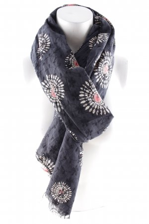 Erfurt Neckerchief dark blue-beige ethnic pattern Gypsy style