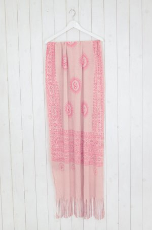Erfurt Summer Scarf light pink-pink viscose