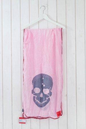 Erfurt Silk Scarf pink-grey silk
