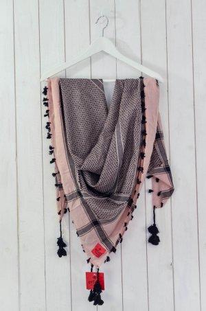 Erfurt Arafat sjaal rosé-zwart Viscose