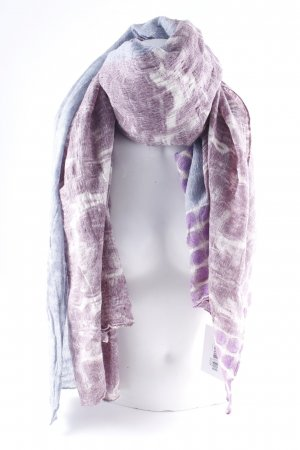 Erfurt Pashmina mixed pattern casual look