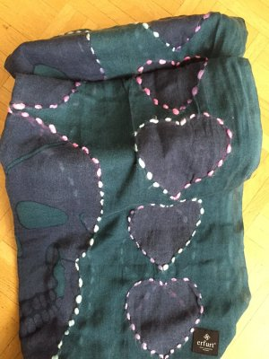 Erfurt Woolen Scarf multicolored wool