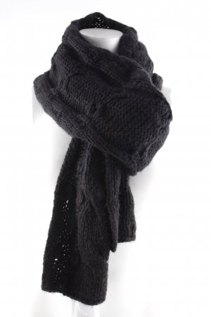 Erfurt Knitted Scarf black casual look