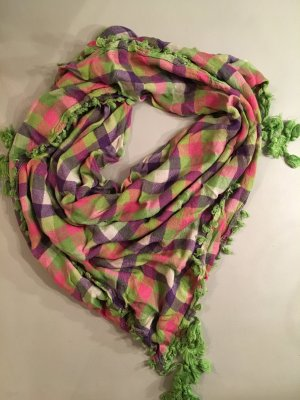 Erfurt Neckerchief multicolored viscose