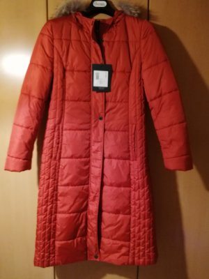 Erich Fend Quilted Coat russet polyester