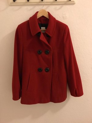 Erich Fend Wool Jacket red-neon red new wool