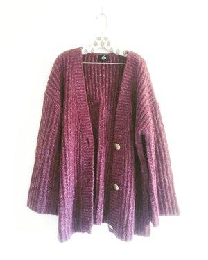 erika farbene strickjacke / cardigan / vintage / fuchsia / magenta / knits / wolljacke