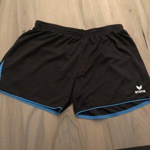Erima Pantalon de sport noir-bleu