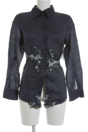 Ermano Scervino Langarm-Bluse mehrfarbig Elegant